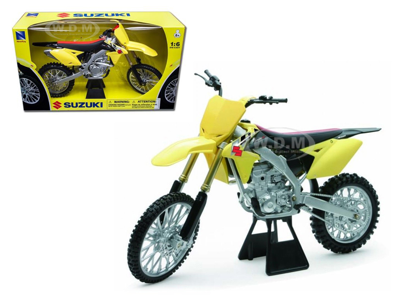 2014 Suzuki RM-Z450 Bike Motorcycle 1/6 Model by New Ray