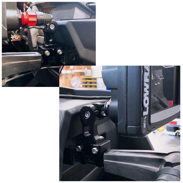 PCI Race Radios PRR3594 .75 Inch Axia Grab Bar Mount Elite Ti