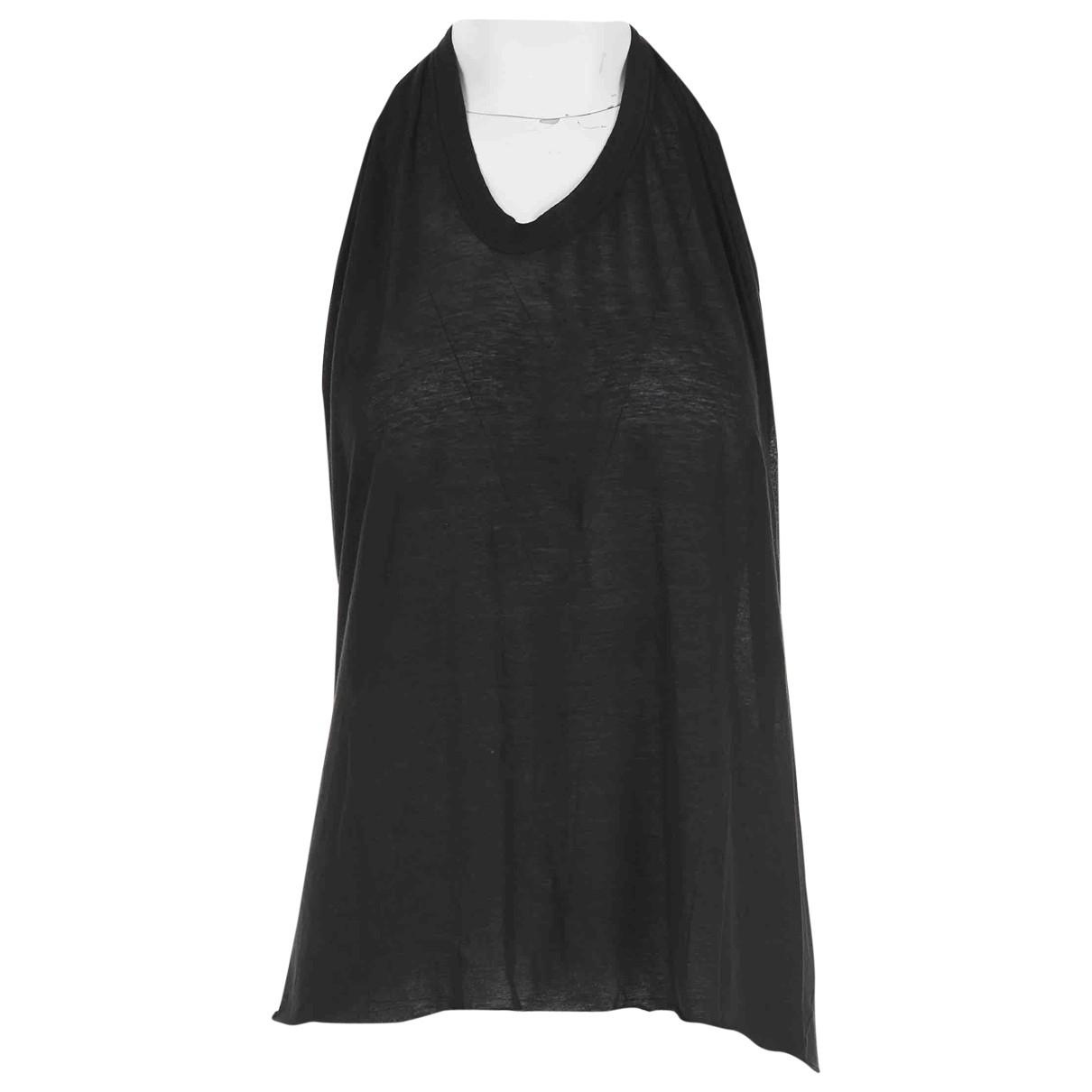 Rick Owens \N Black Cotton  top for Women One Size International