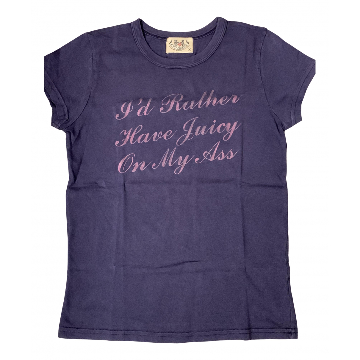 Juicy Couture - Top   pour femme en coton - bleu