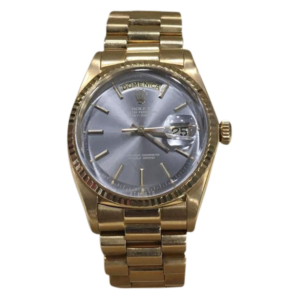 Rolex Day-Date 36mm Yellow Yellow gold watch for Women \N