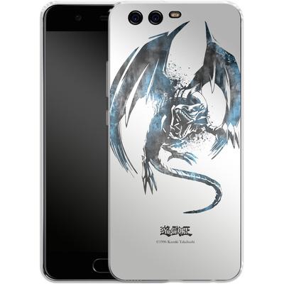 Huawei P10 Silikon Handyhuelle - Blue-Eyes White Dragon von Yu-Gi-Oh!