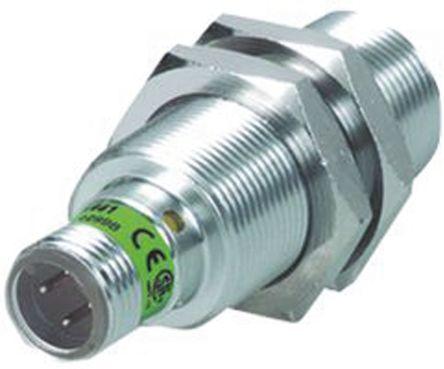 Turck M18 x 1 Inductive Sensor - Barrel, PNP-NO Output, 15 mm Detection, IP67, M12 - 4 Pin Terminal