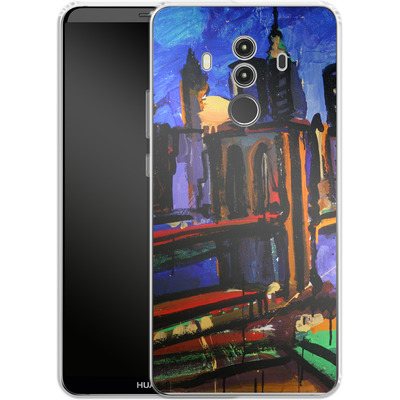 Huawei Mate 10 Pro Silikon Handyhuelle - Alive At Night von Tom Christopher