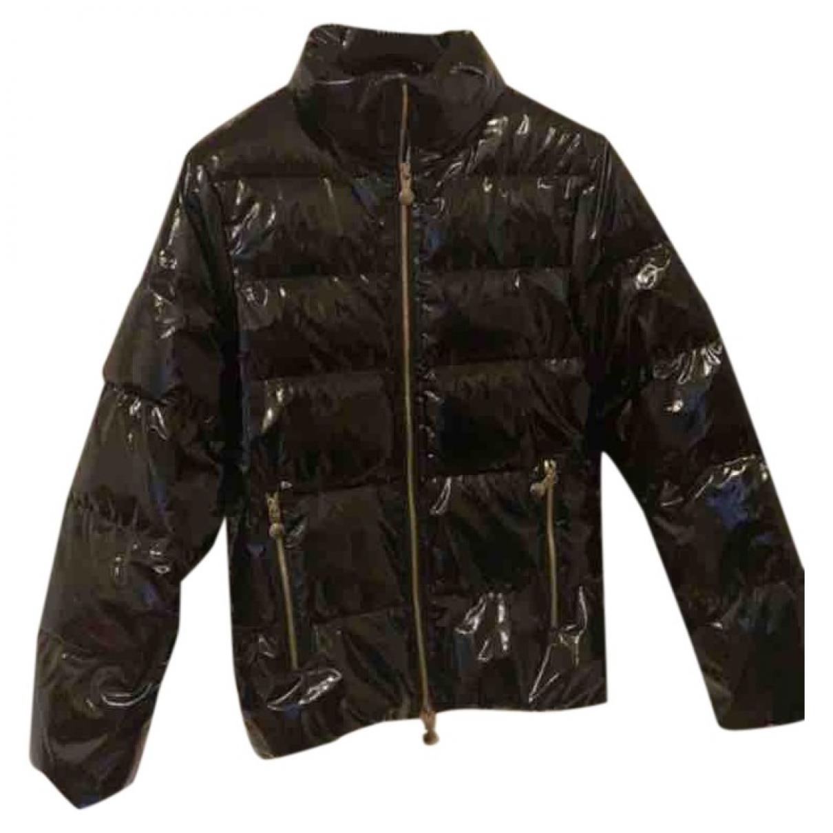 Pyrenex \N Black Leather jacket for Women 40 FR