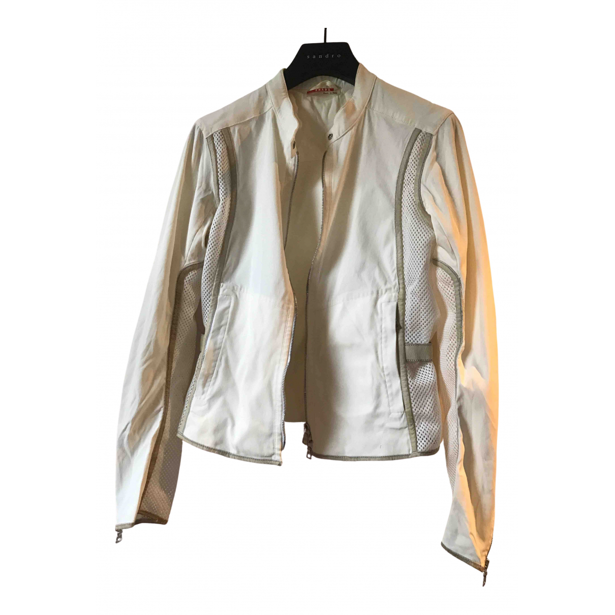 Prada \N White jacket for Women M International