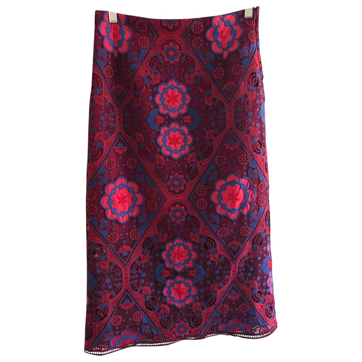 Sandro \N Red Cotton skirt for Women 2 0-5