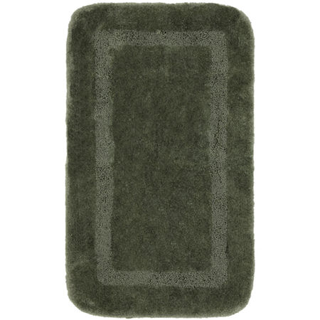 Mohawk Home Facet Bath Rug Collection, One Size , Green