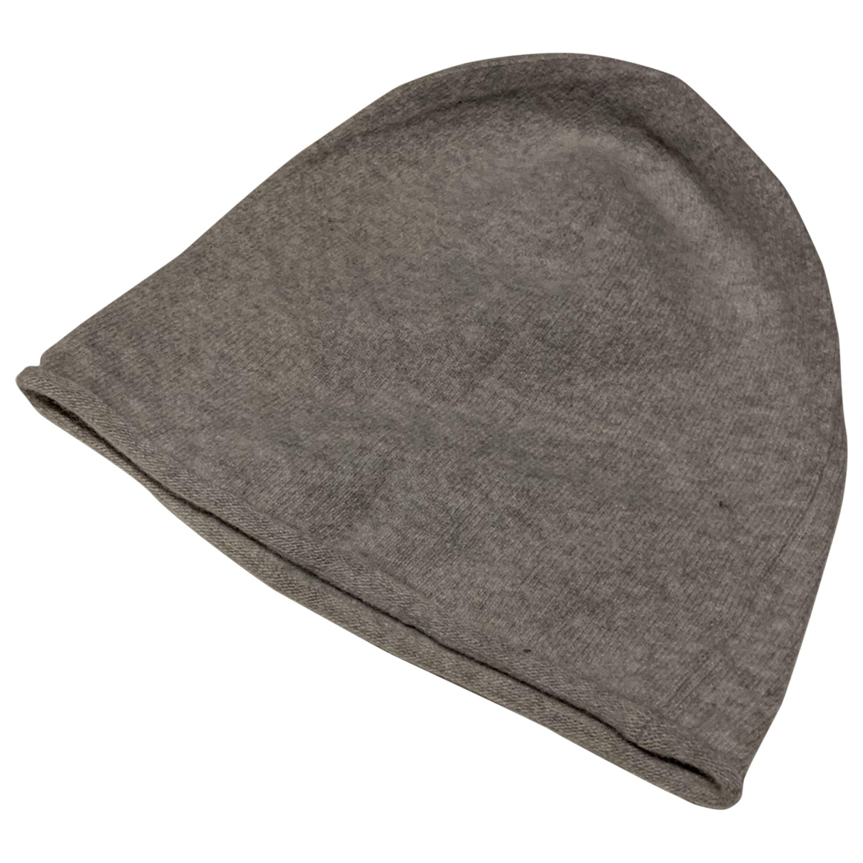 Non Signé / Unsigned \N Grey Cashmere hat & pull on hat for Men S International
