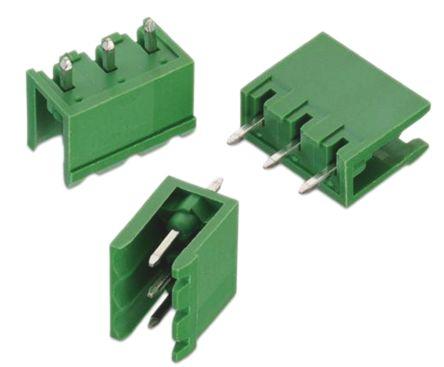Wurth Elektronik , 3117, 3 Way, 1 Row, Straight PCB Header