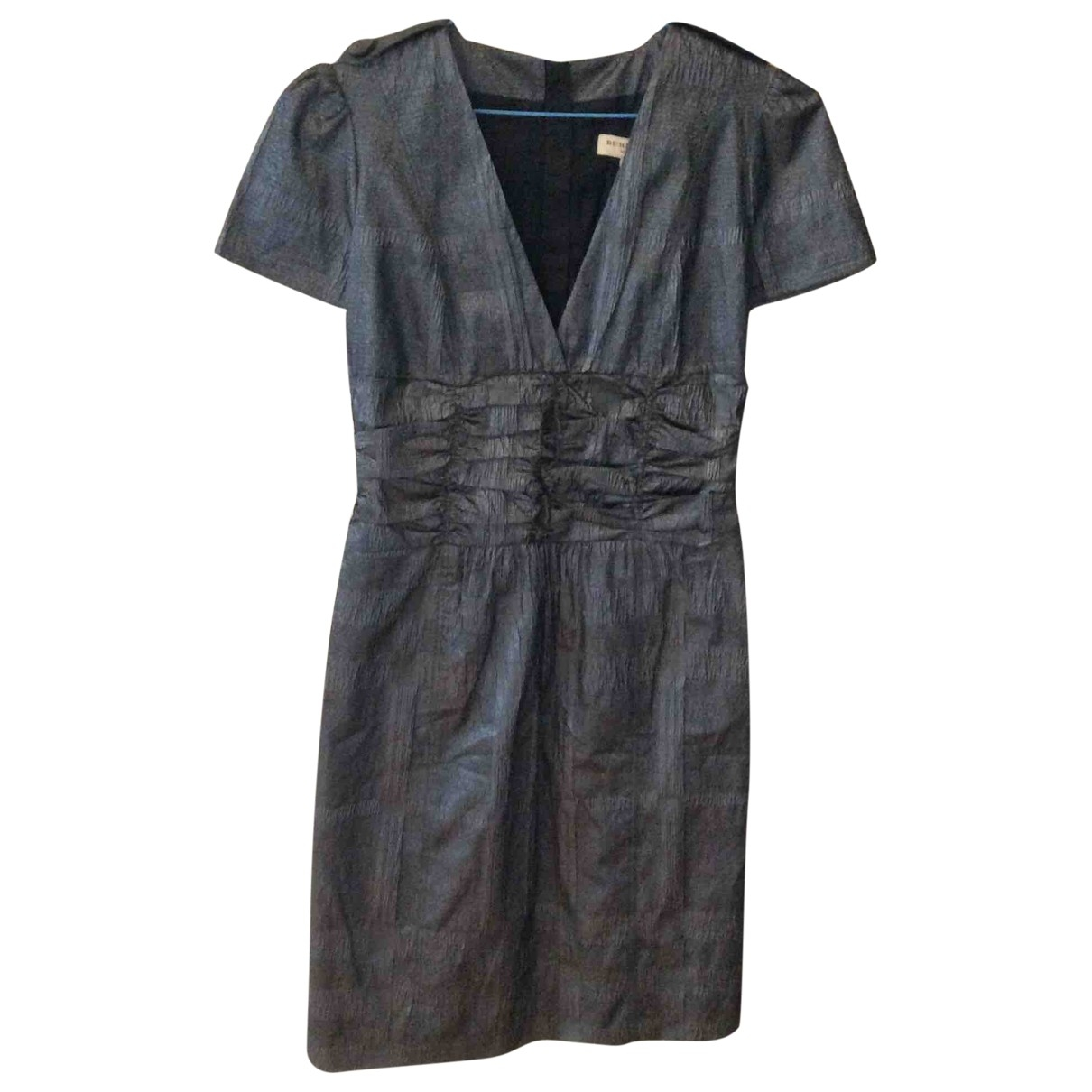 Burberry \N Kleid in  Grau Polyester