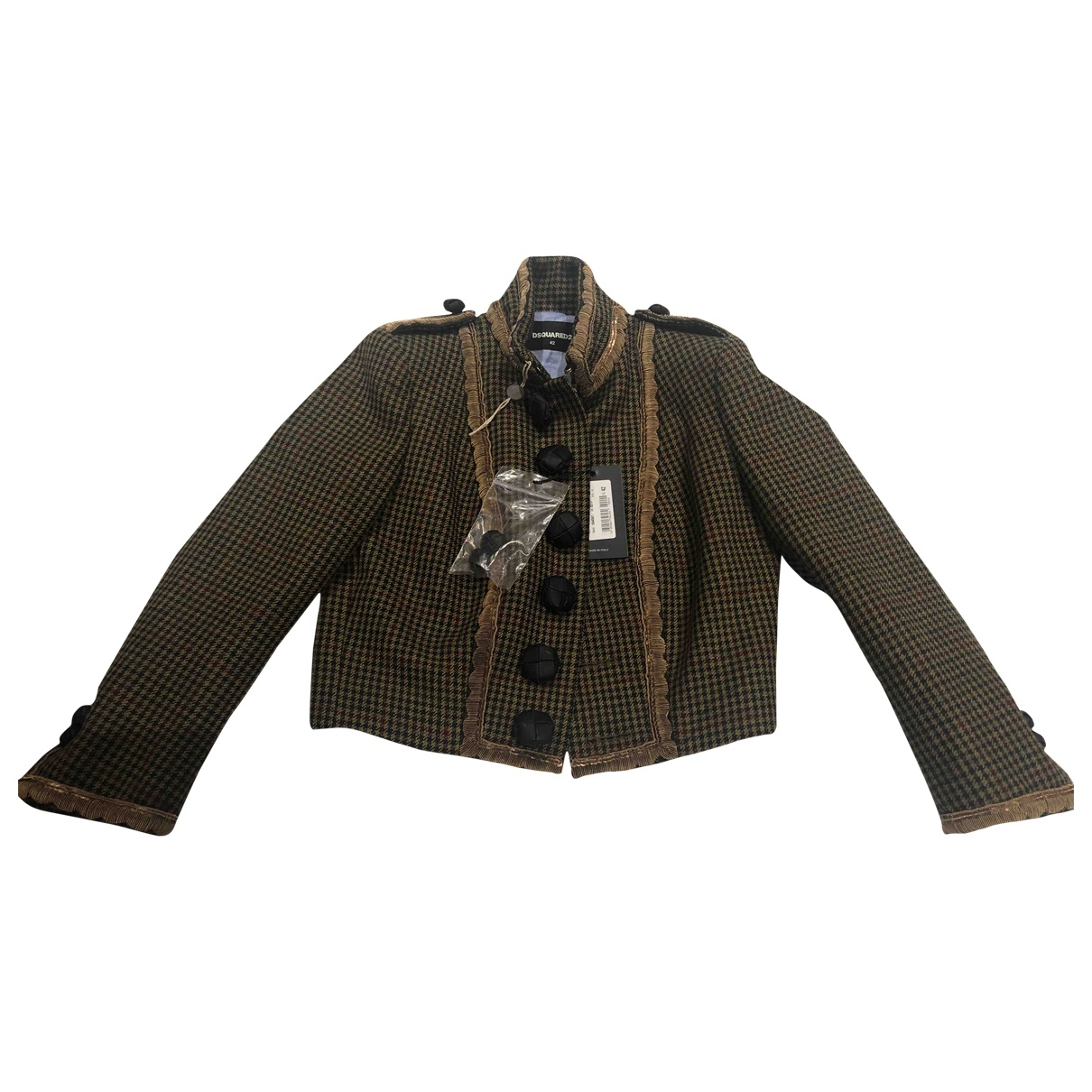 Dsquared2 \N Jacke in Wolle