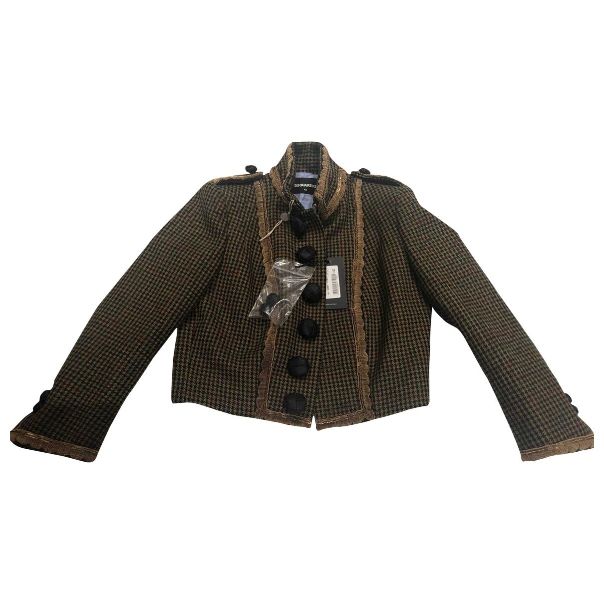 Dsquared2 - Veste   pour femme en laine