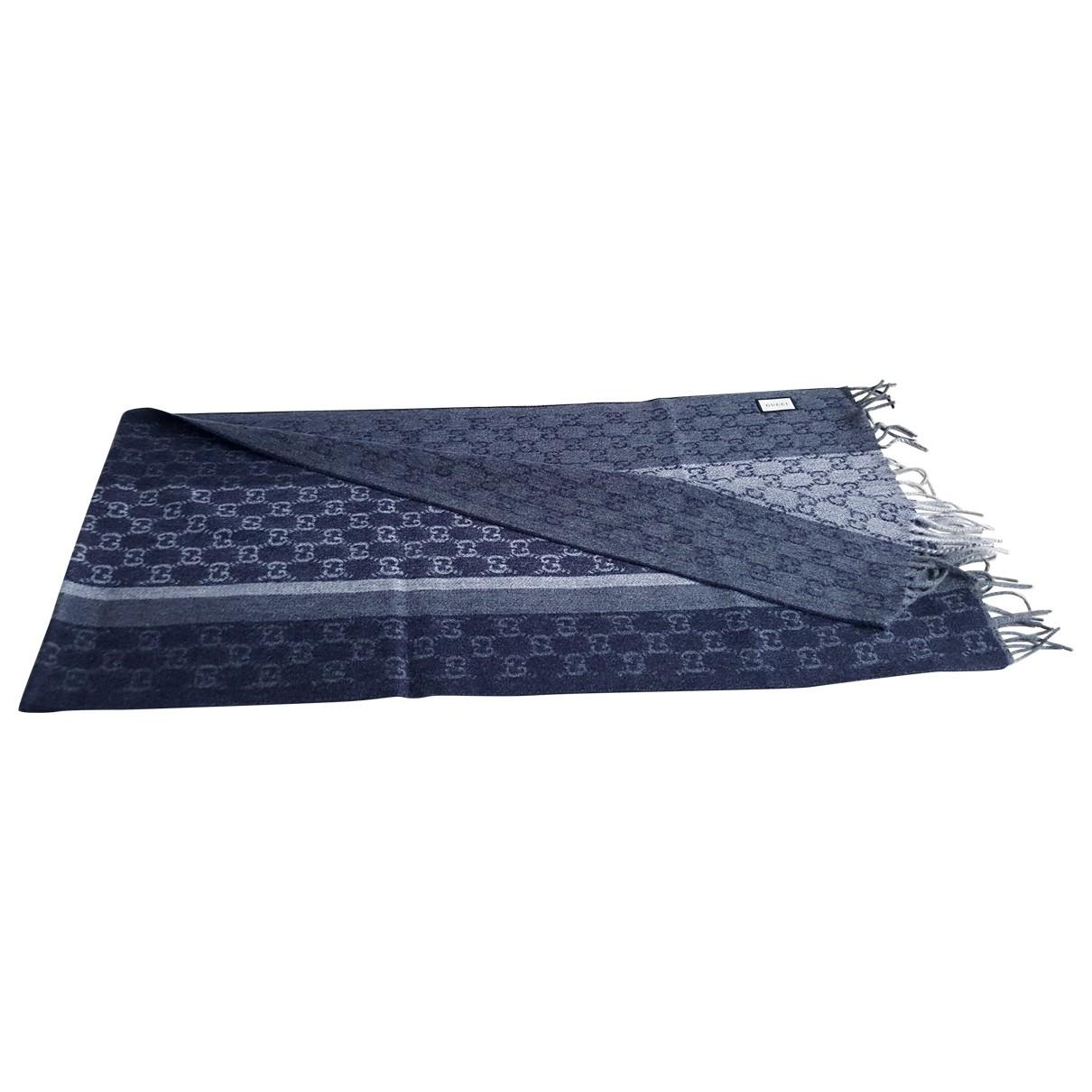 Gucci \N Blue Cashmere scarf & pocket squares for Men \N