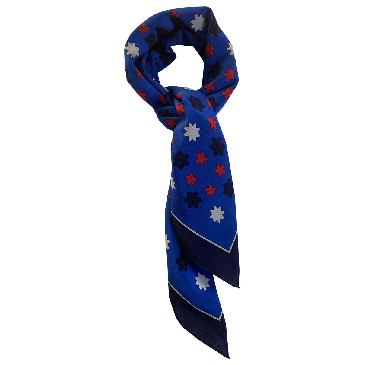 Yves Saint Laurent \N Tuecher in  Blau Seide