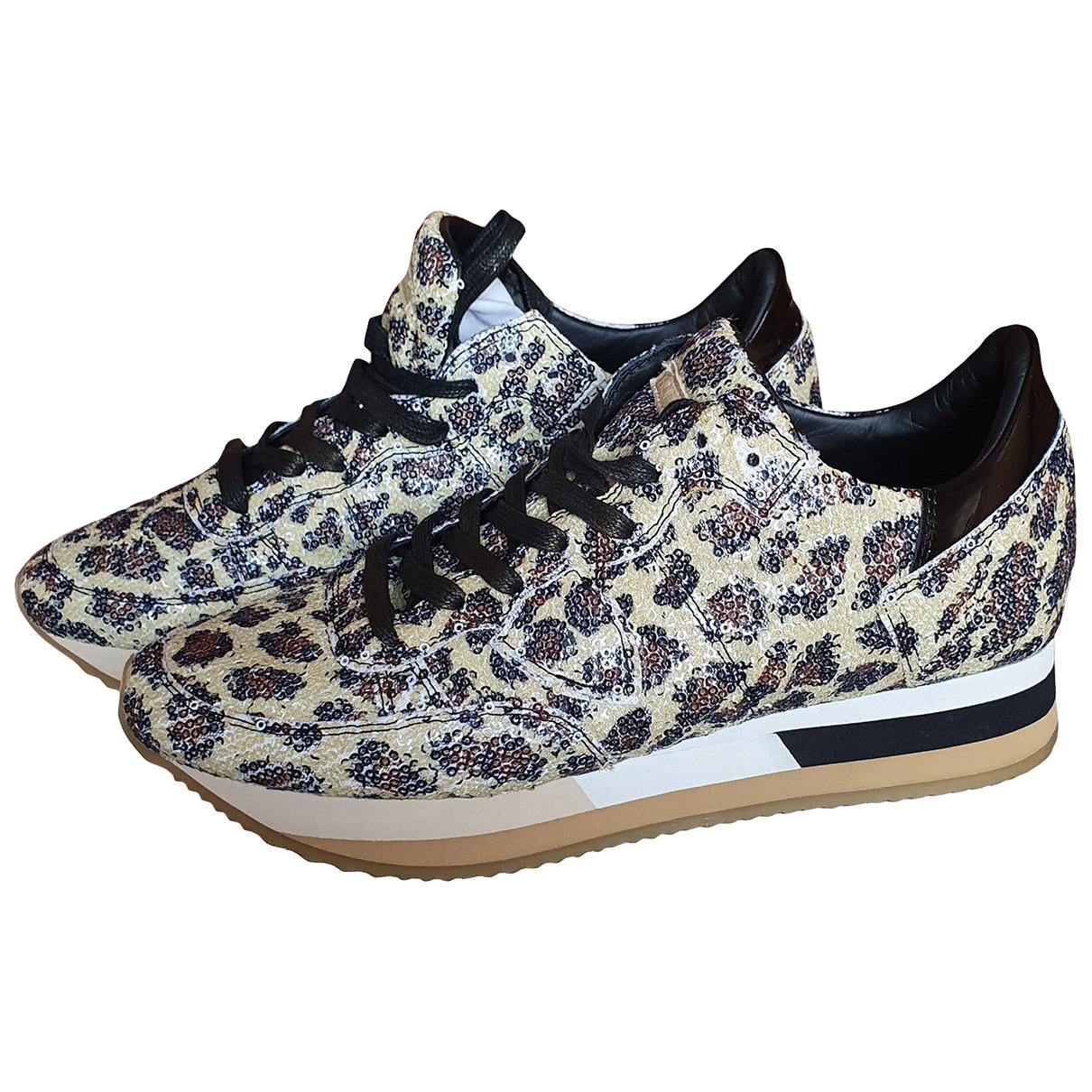 Philippe Model \N Sneakers in Mit Pailletten
