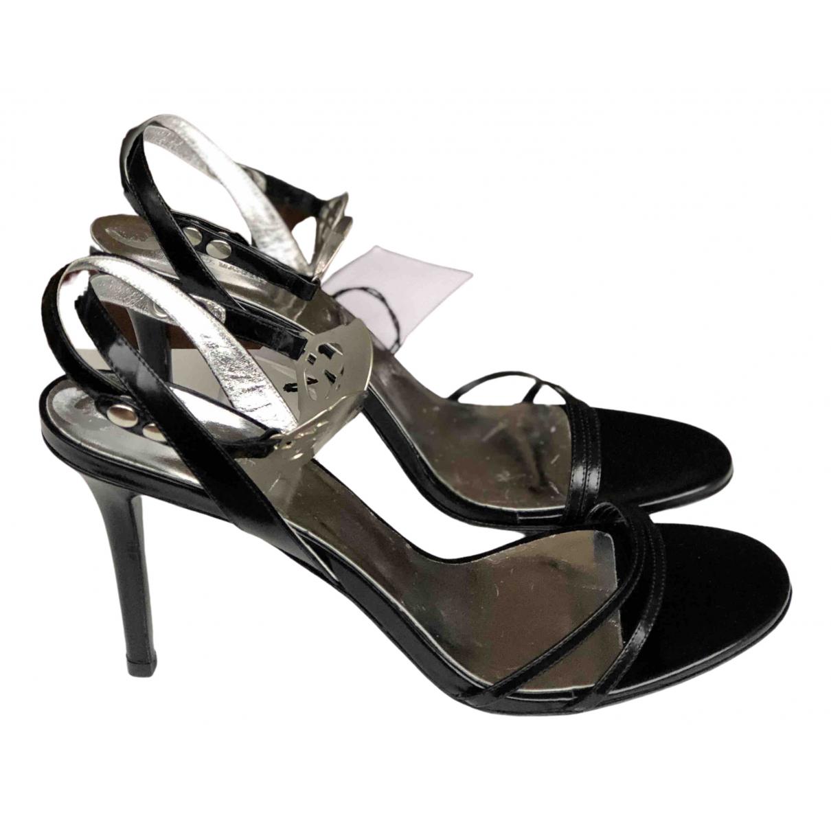 Isabel Marant \N Black Patent leather Sandals for Women 40 EU