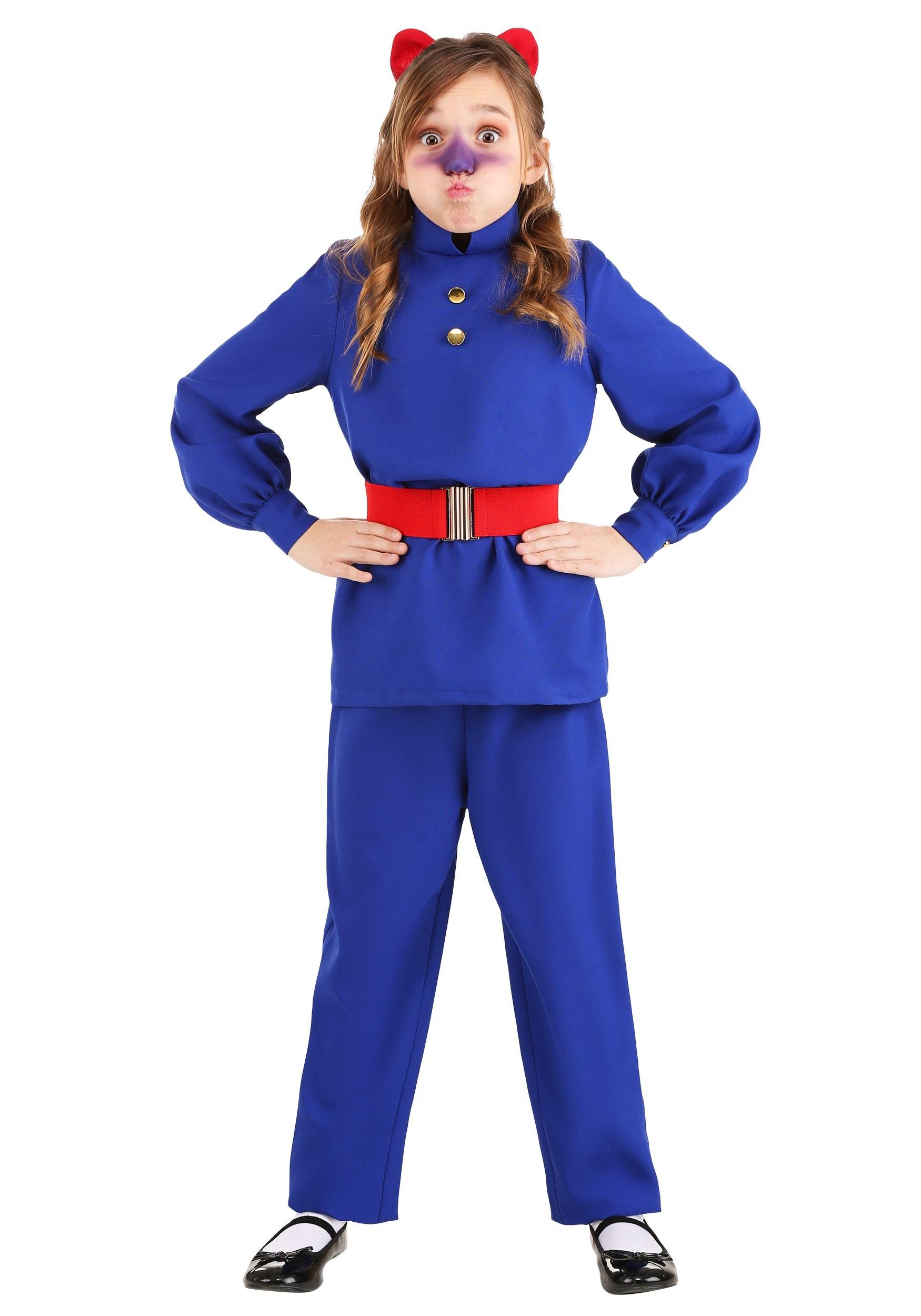 Willy Wonka Violet Beauregarde Costume for Kids