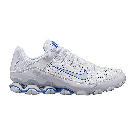 Nike Reax 8 Mens Training Shoes, 7 1/2 Medium, White