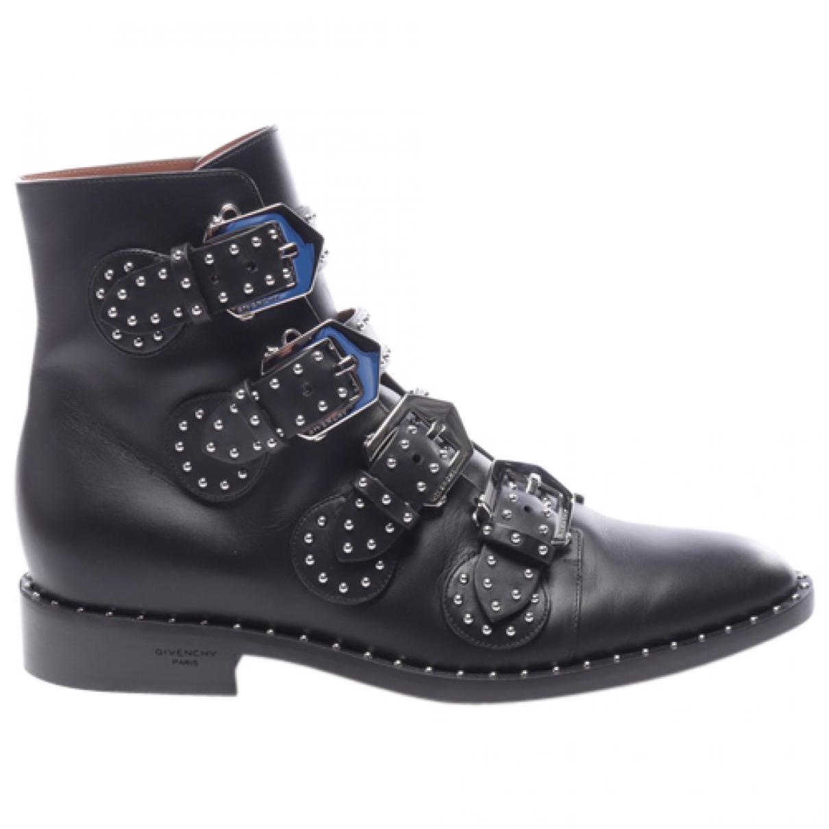 Botines de Cuero Givenchy