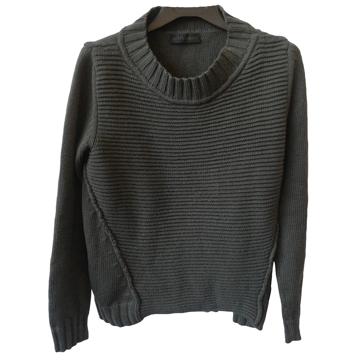 Trussardi \N Grey Wool Knitwear for Women L International