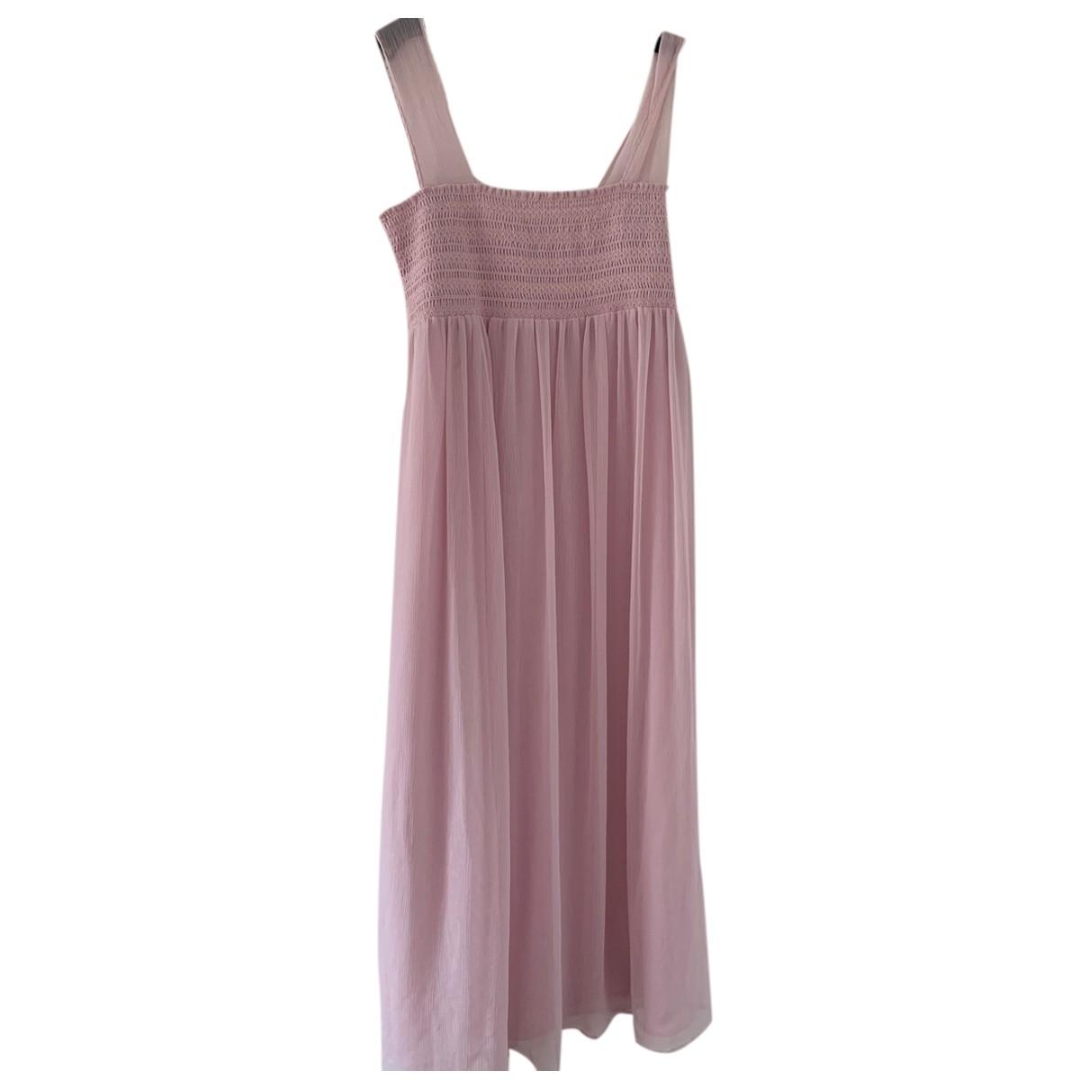 Alexa Chung \N Kleid in  Rosa Polyester