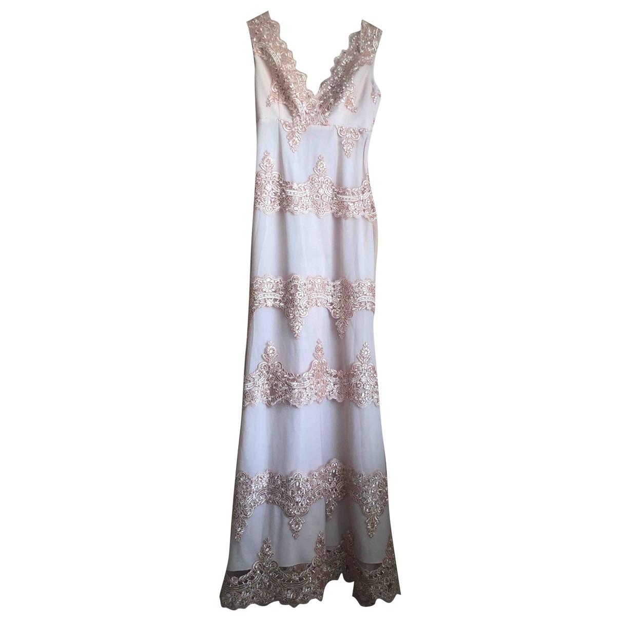 Guy Laroche \N Kleid in  Rosa Polyester