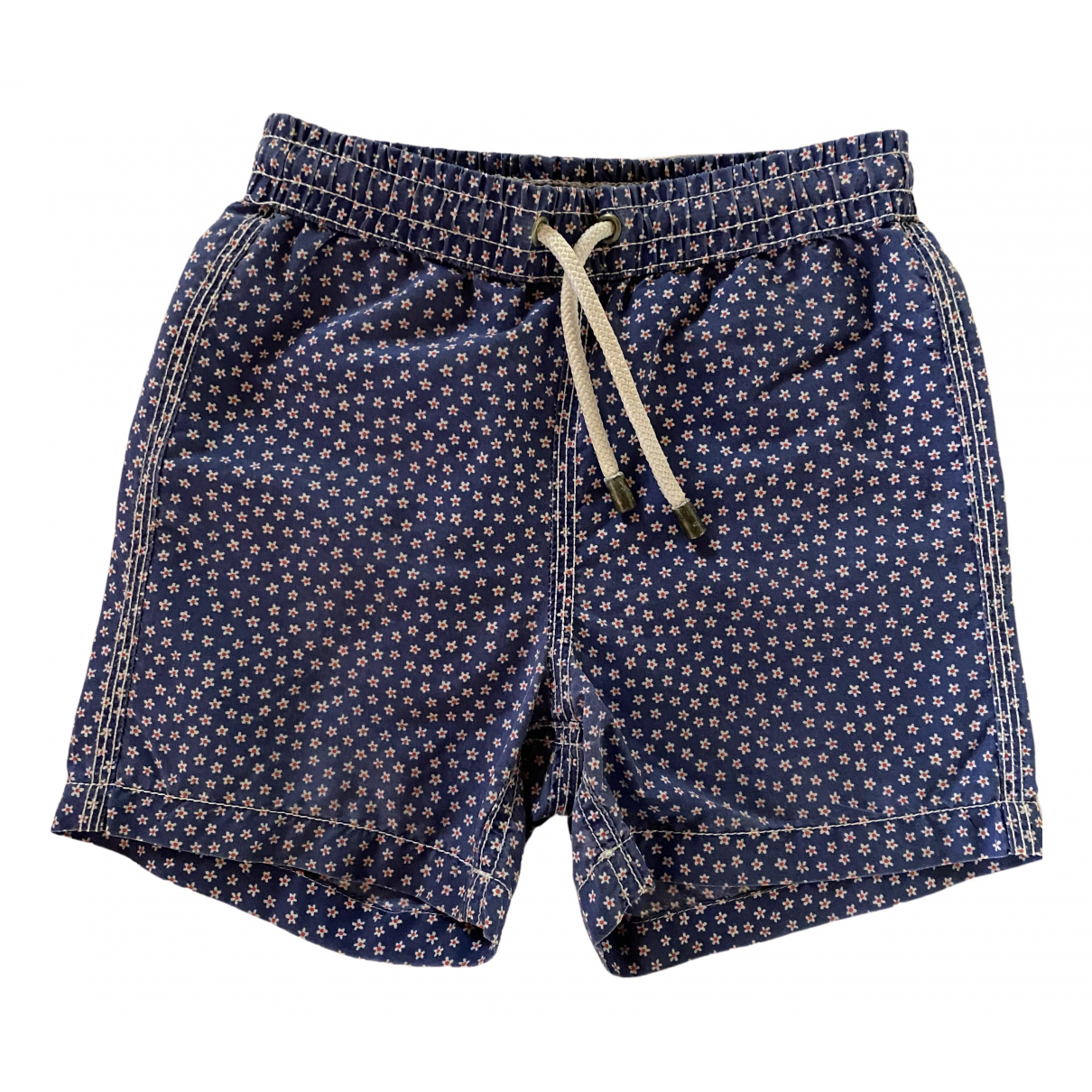 Hartford \N Shorts in  Blau Baumwolle