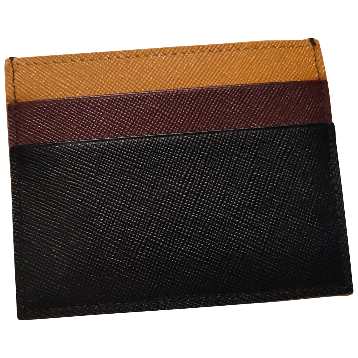 Marni \N Leather wallet for Women \N