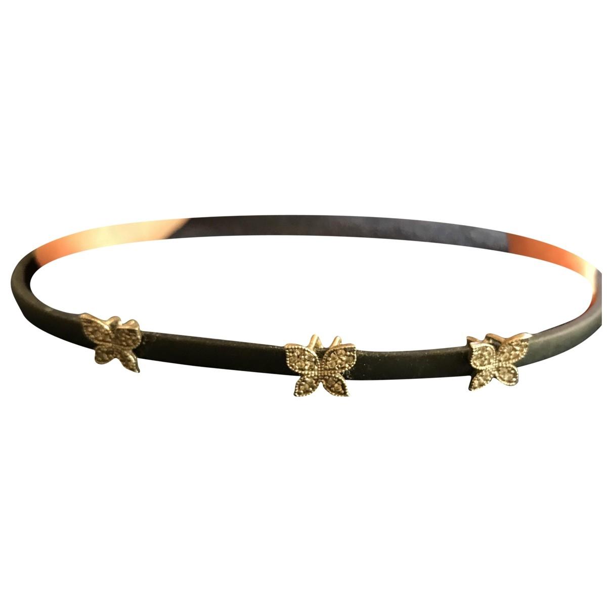 - Bracelet Motifs Animaliers pour femme en metal - noir