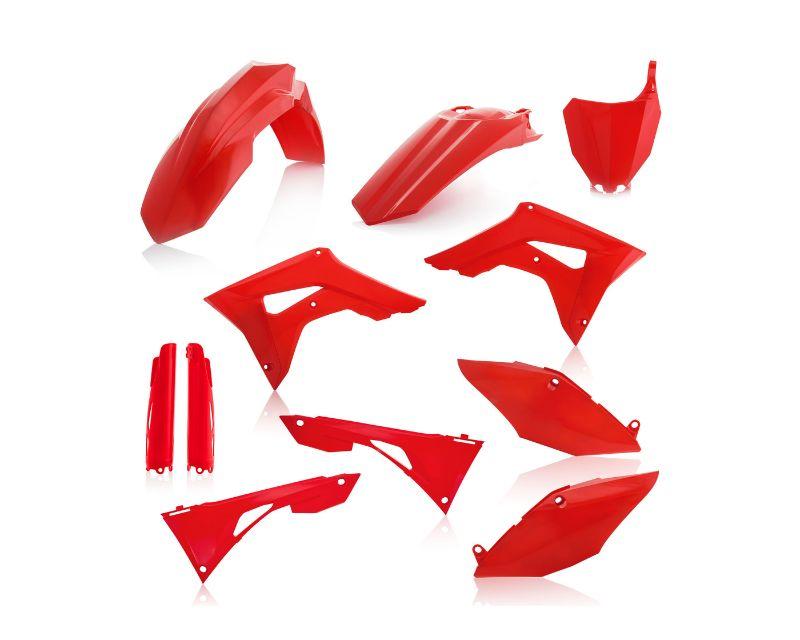 Acerbis 2736250227 Full Plastic Kit Red Honda CRF250R 2019