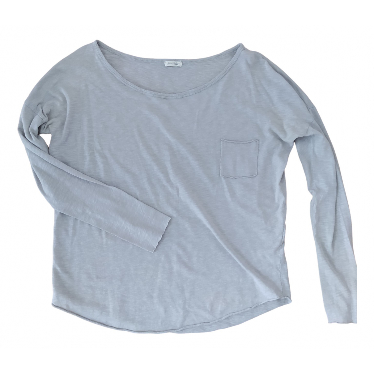 American Vintage \N Grey Cotton  top for Women S International