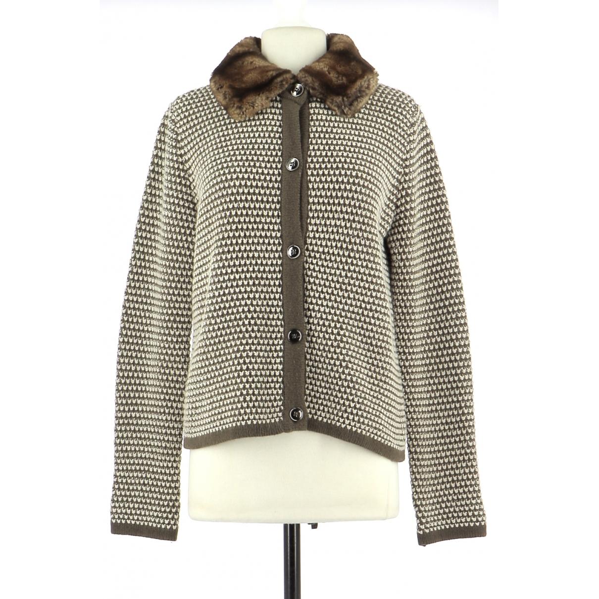 Max Mara \N Beige Wool Knitwear for Women 38 FR