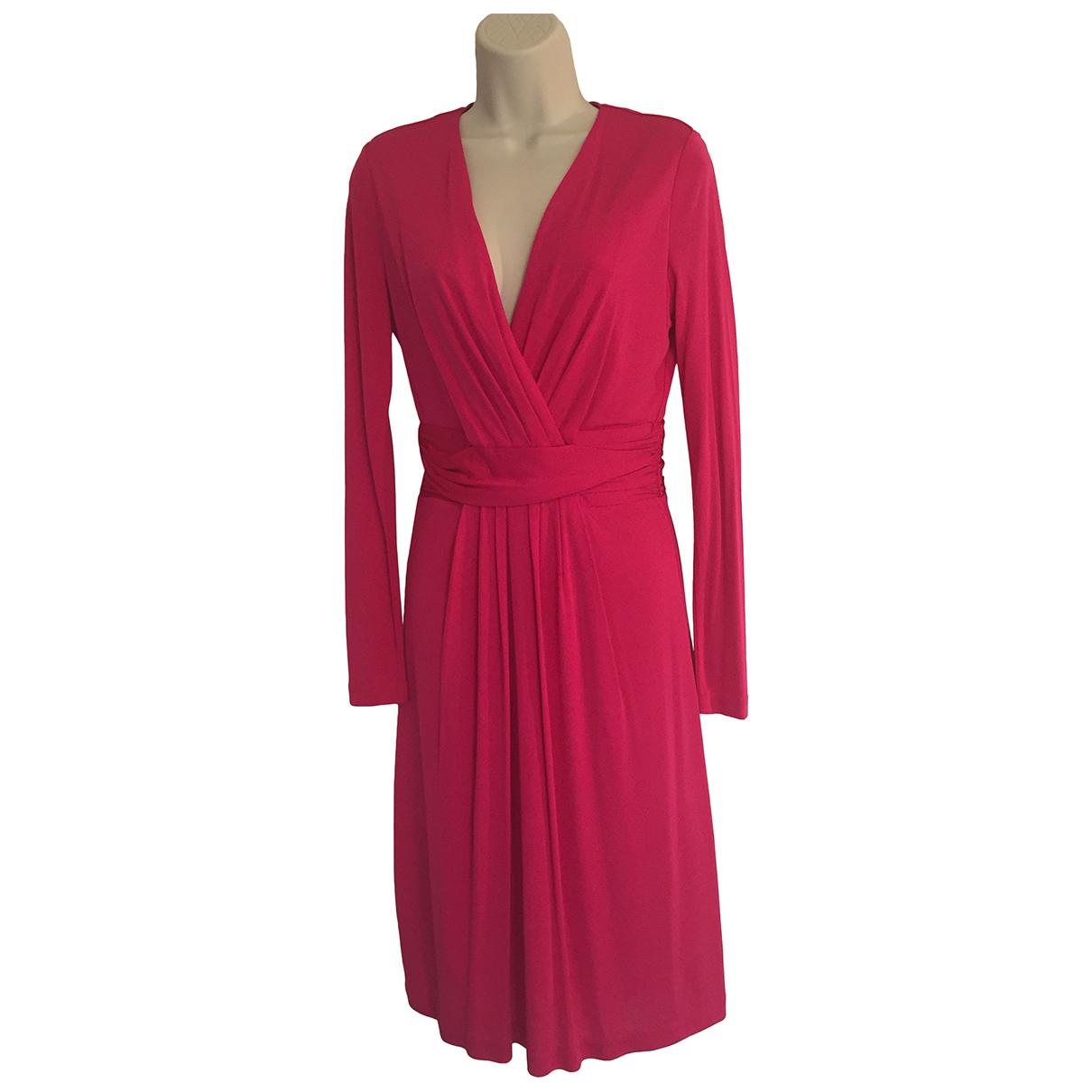 Issa \N Kleid in  Rosa Viskose