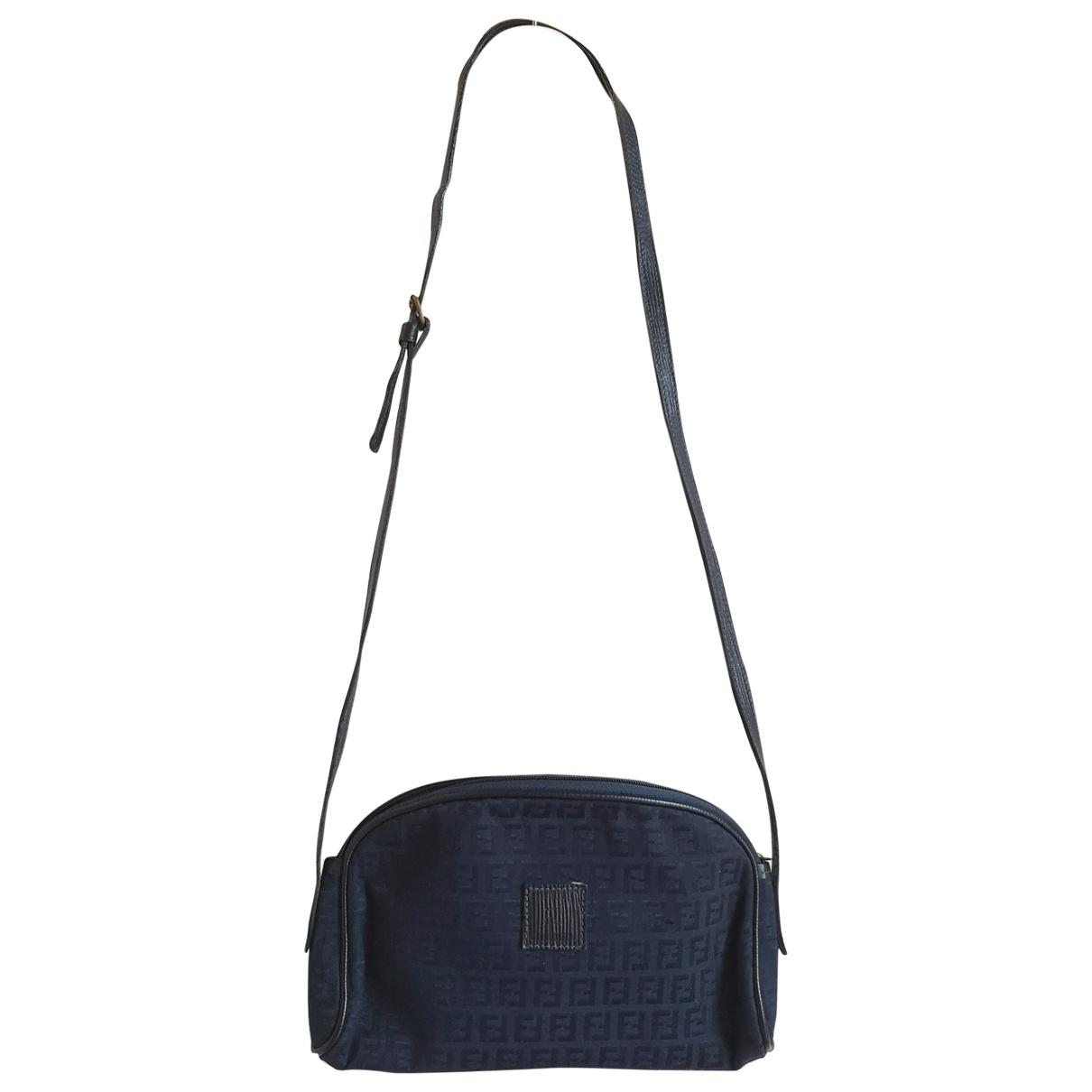Fendi \N Blue Cloth handbag for Women \N