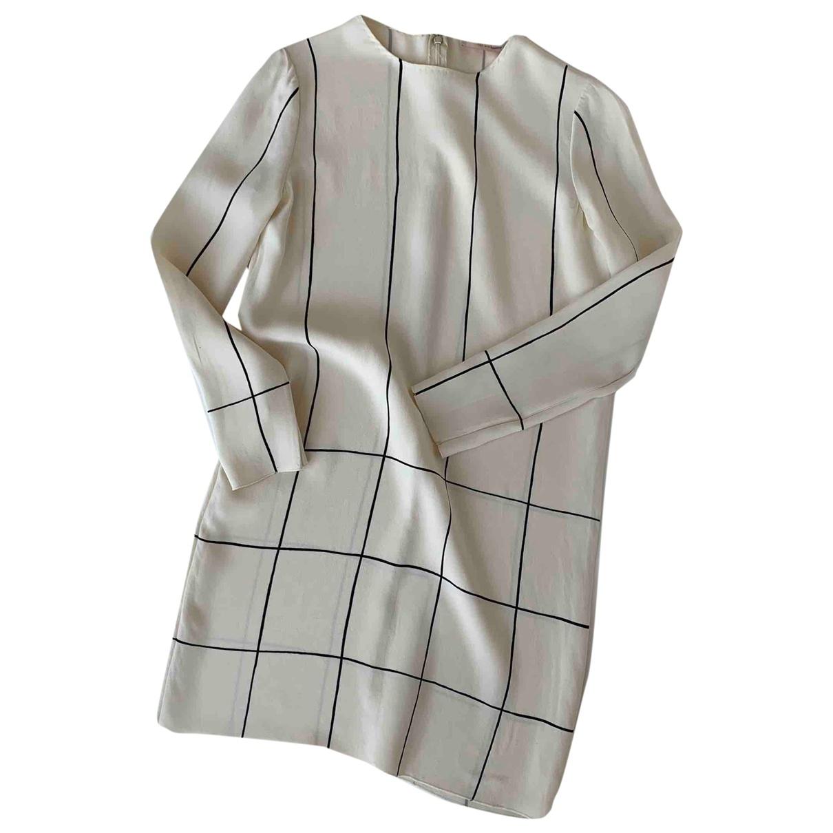 Tory Burch \N Ecru Silk dress for Women 2 US