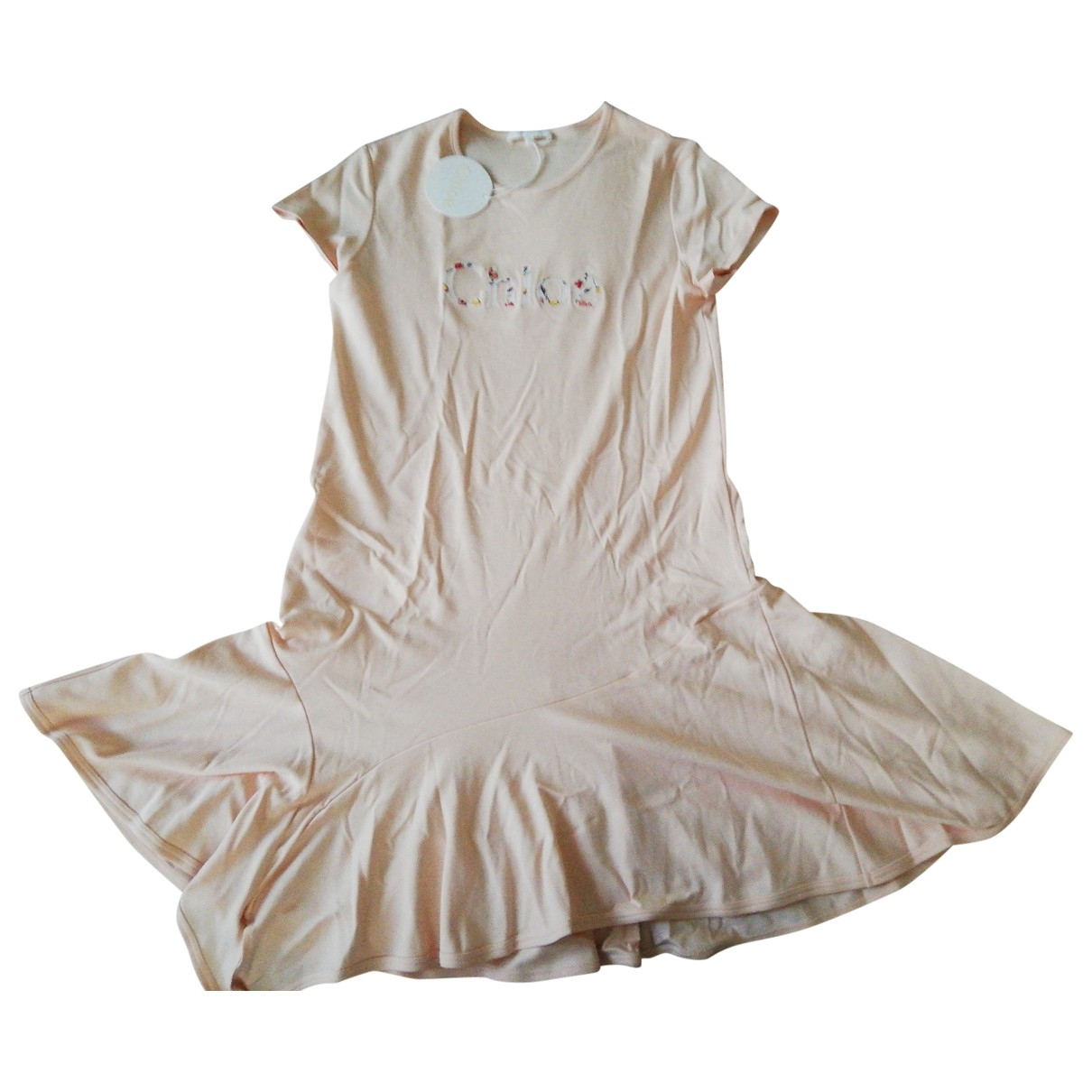 Chloé \N Pink Cotton dress for Kids 14 years - S UK