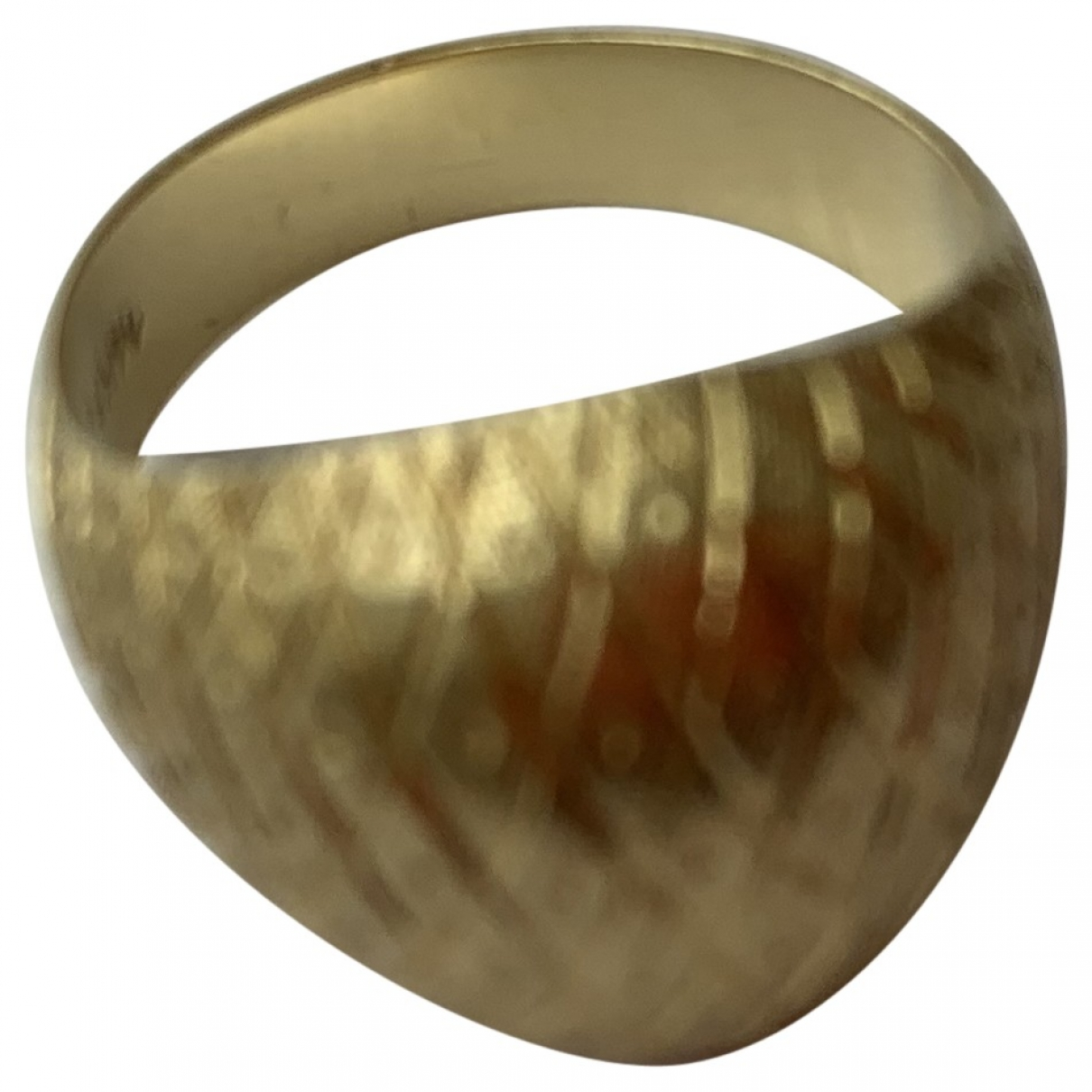 Monica Vinader \N Gold Yellow gold ring for Women \N