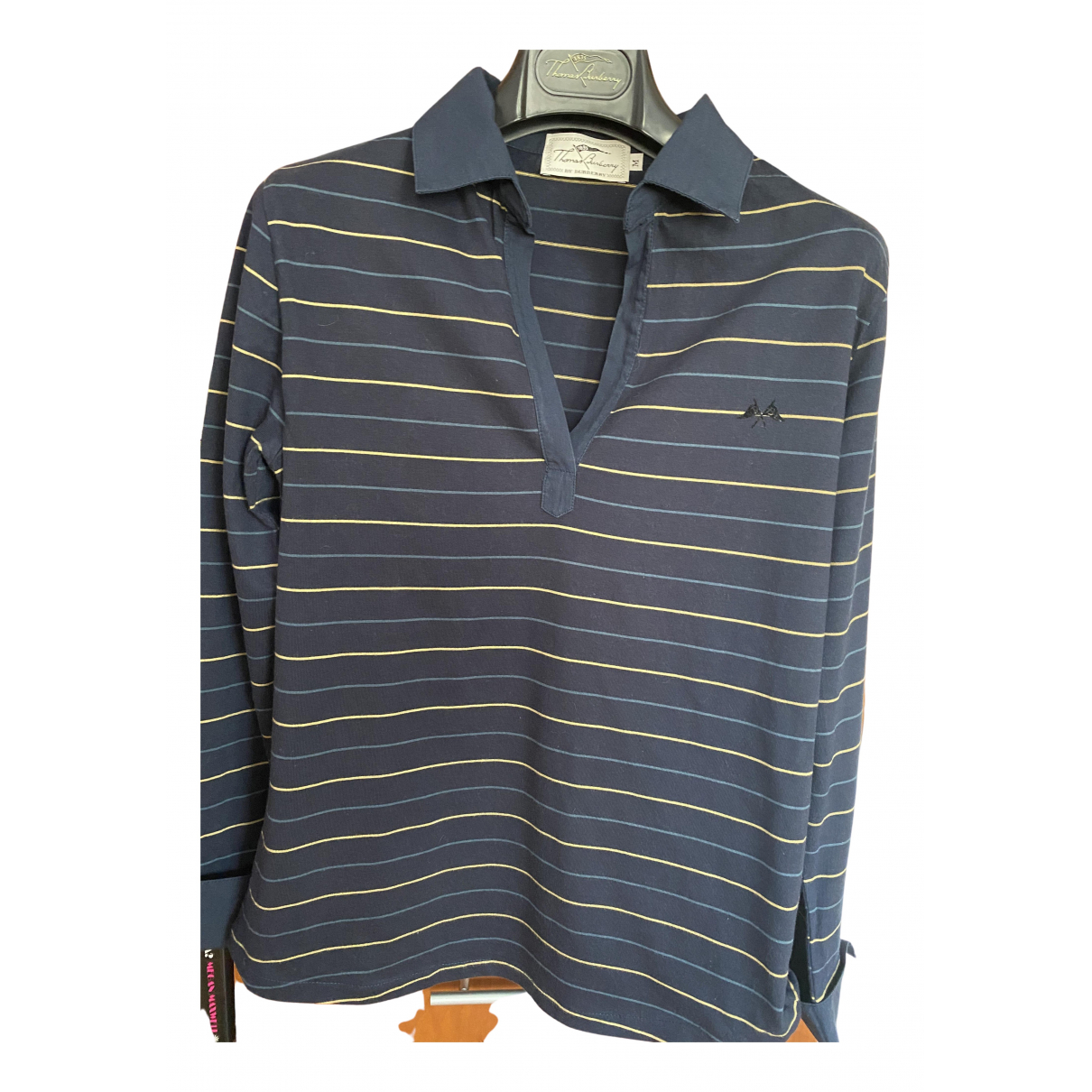Burberry N Navy Cotton  top for Women 42 FR
