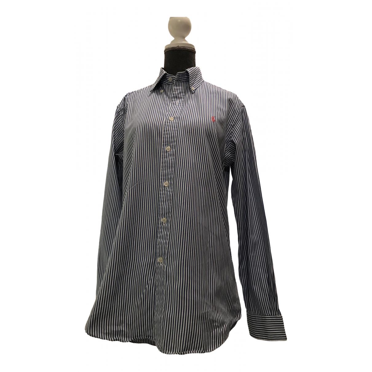 Ralph Lauren \N Blue Cotton Shirts for Men XS International