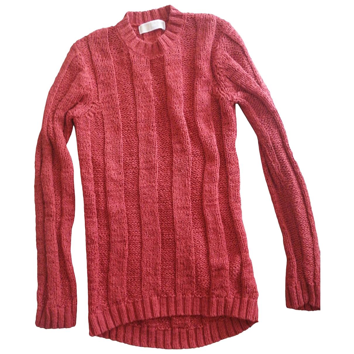 Michael Kors - Pull   pour femme en coton - rouge