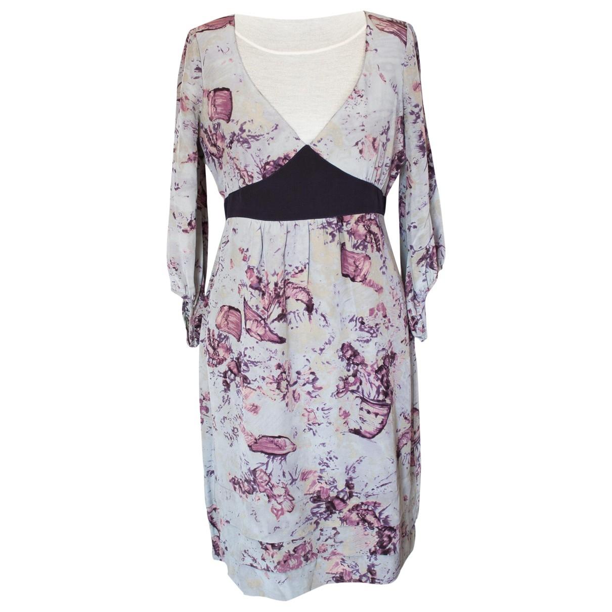 Max & Co \N Purple Silk dress for Women 42 IT