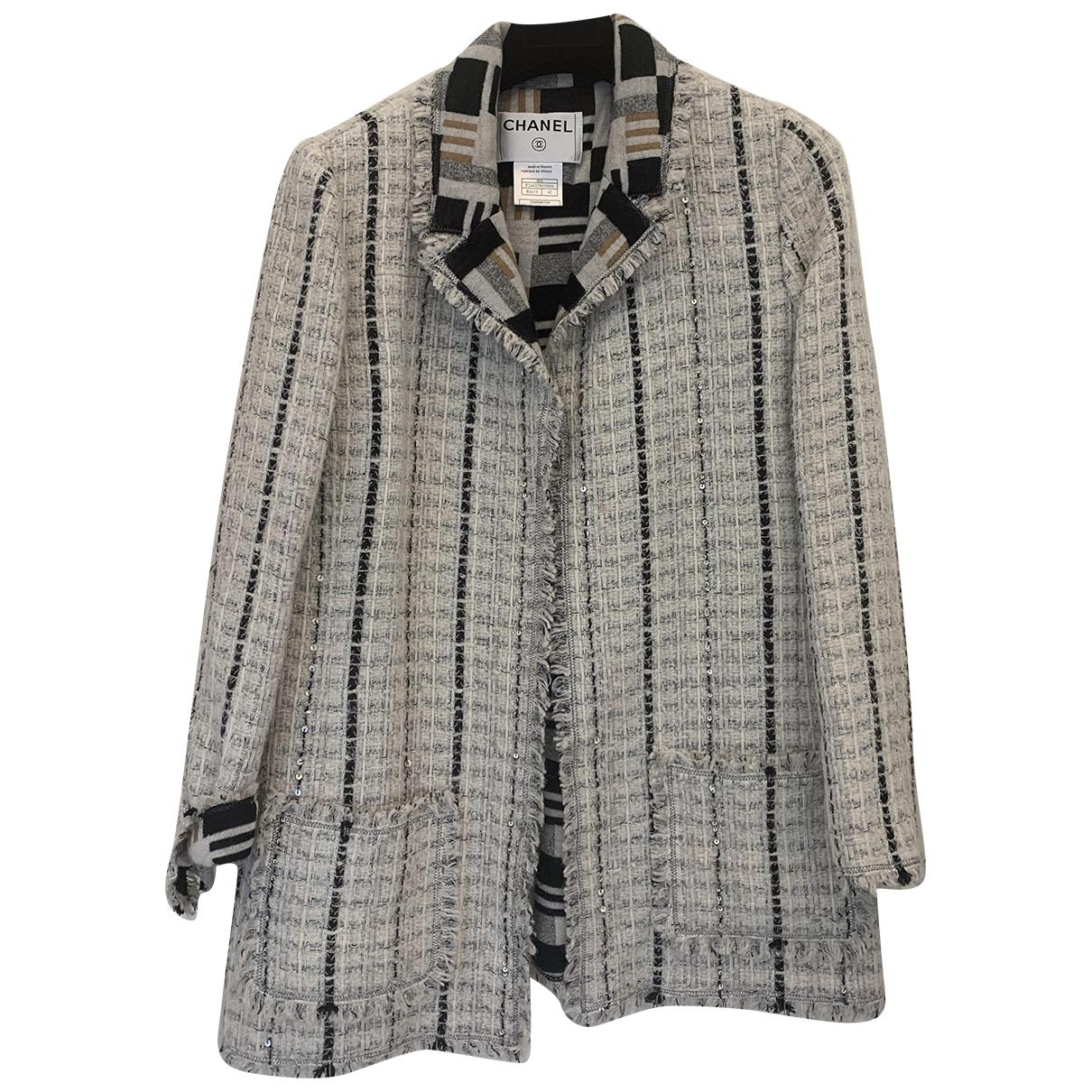Chanel - Veste   pour femme en cachemire - multicolore