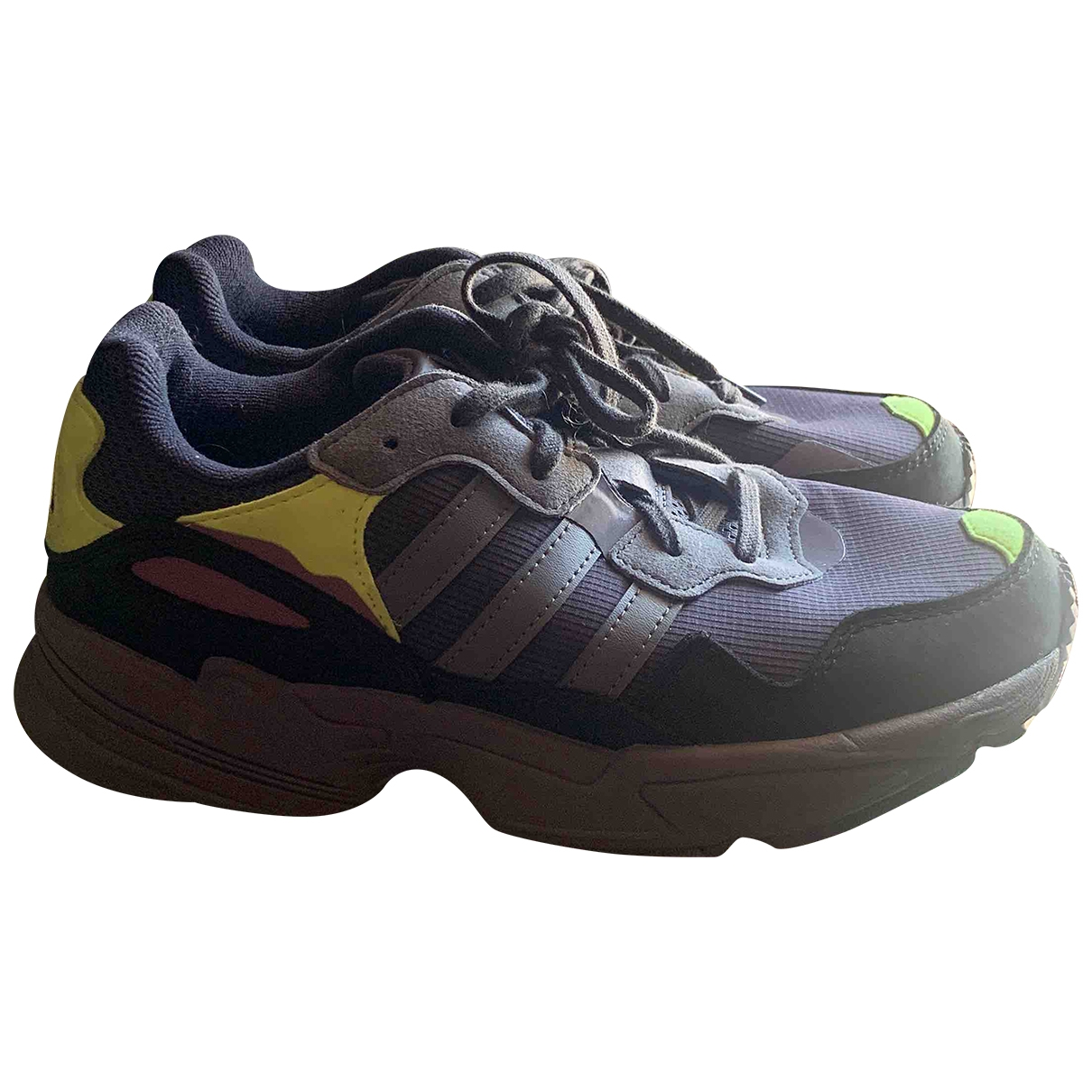 Adidas \N Grey Cloth Trainers for Women 5.5 UK