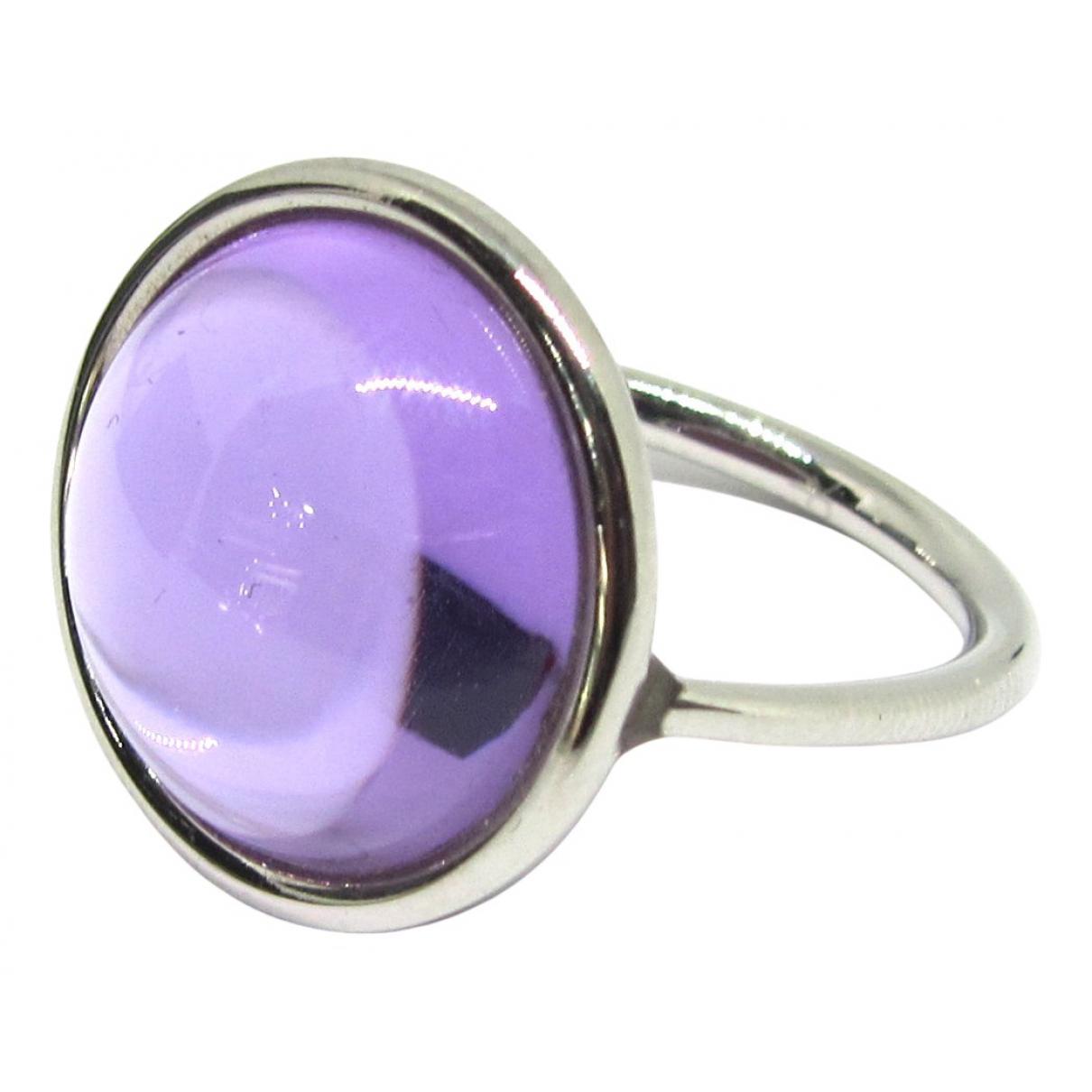 Calvin Klein - Bague   pour femme en argent - violet