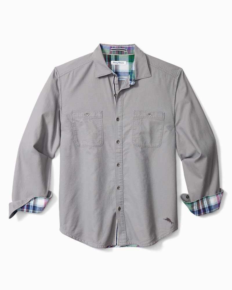 Beach Fire Flannel Shirt