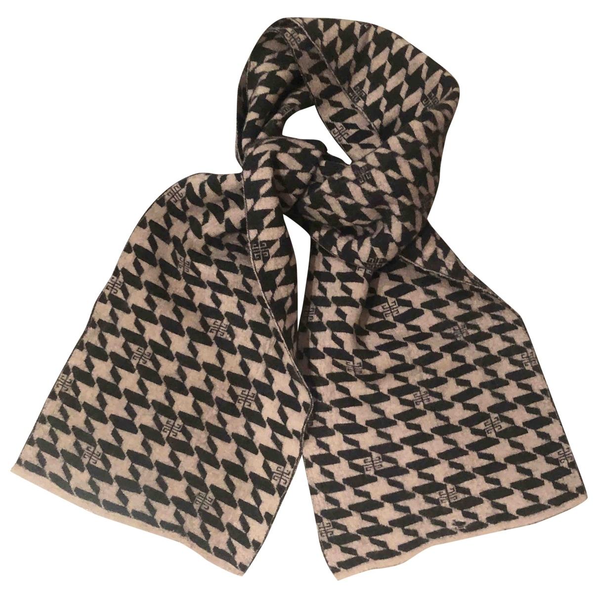 Givenchy \N Beige Cashmere scarf & pocket squares for Men \N