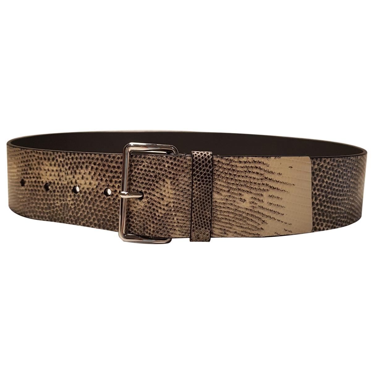 Cinturon de Lagartija Prada