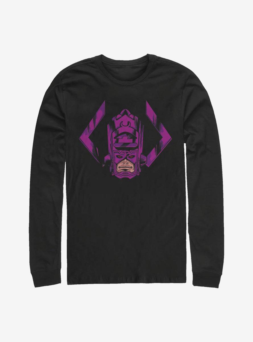 Marvel Fantastic Four Face Of Galactus Long-Sleeve T-Shirt