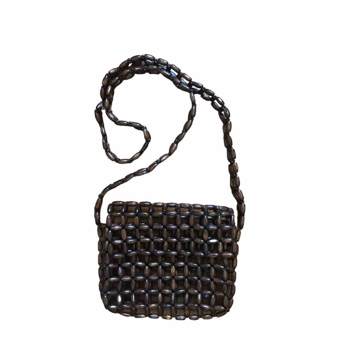 Non Signé / Unsigned \N Brown Wicker Clutch bag for Women \N